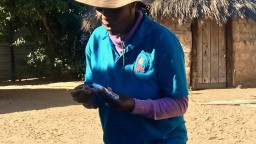 Health worker Naemi