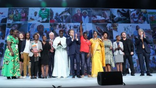 Leaders at the Global Fund Conference