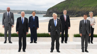 G7 leaders photographed together