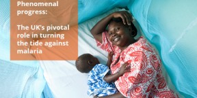 The UK's pivotal role against malaria