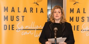 Penny Mordaunt makes a stand at Commonwealth Day event