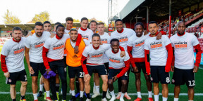 Brentford FC supports Malaria No More UK