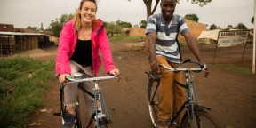Charlie Webster joins us in Uganda to fight malaria