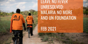 Leave No Fever Unresolved: Malaria and global health security